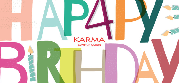 Buon compleanno Karma Communication