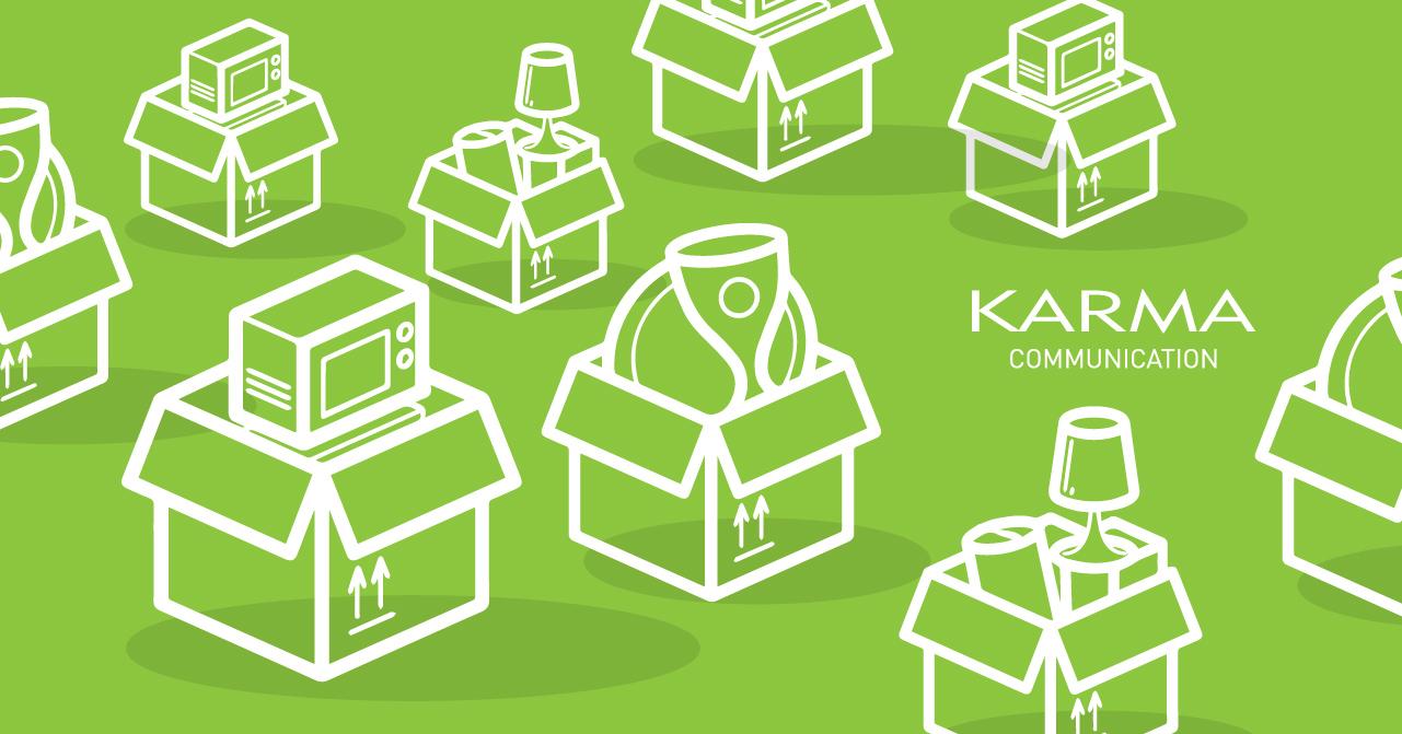 Karma Communication scatole