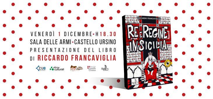 """Presentazione e live painting di """"Re e Regine di Sicilia"""" di Riccardo Francaviglia"""