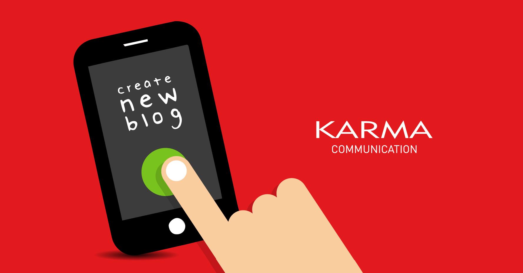 Karma Communication - Giornata mondiale dei blogger