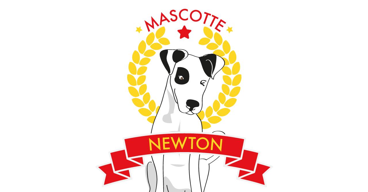 Karma Communication - Newton la mascotte