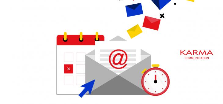 Programmare le email, il gioco del momento