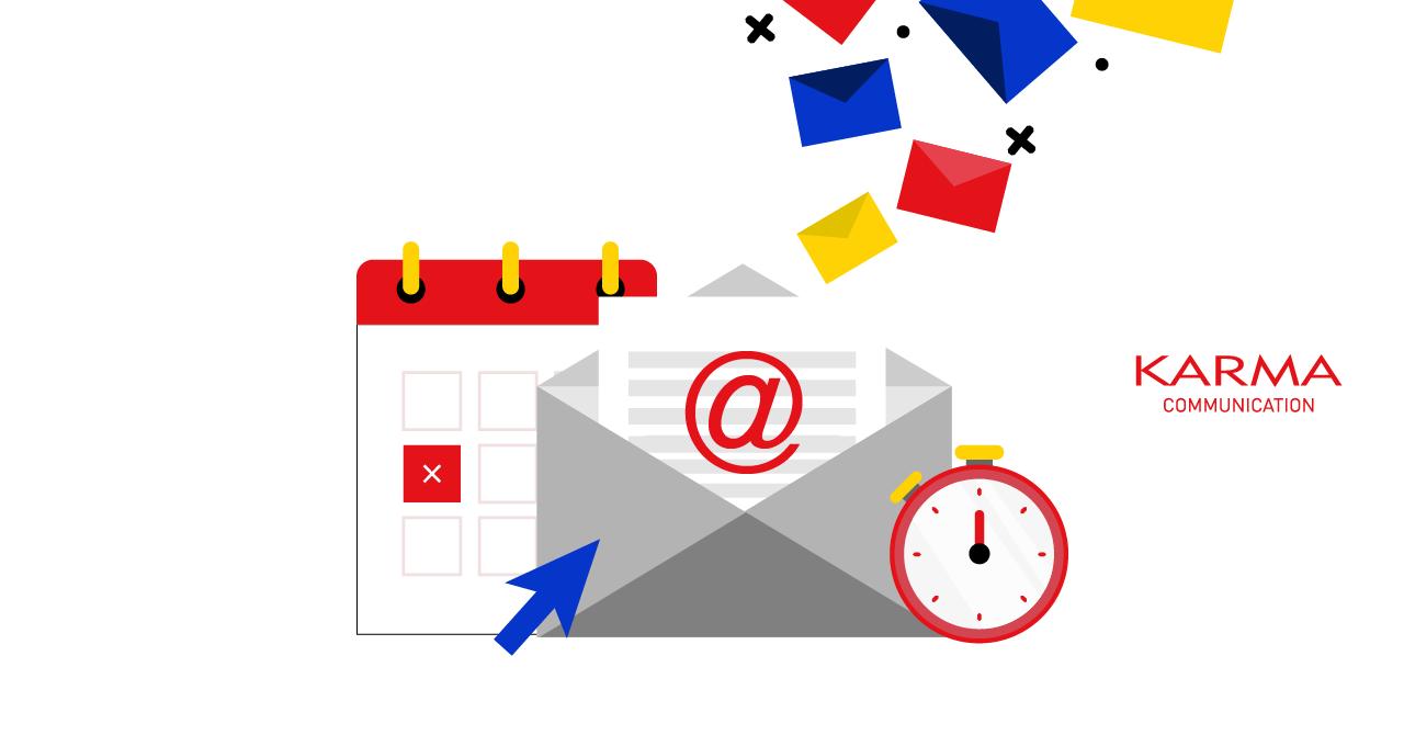 Karma Communication - Programmare le email