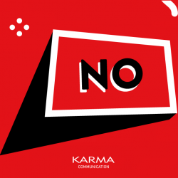 Karma Communication - No al logo
