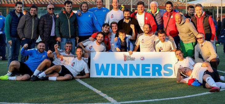 Sicily Football Lawyers Cup 2019, la coppa al Club Forense Catania