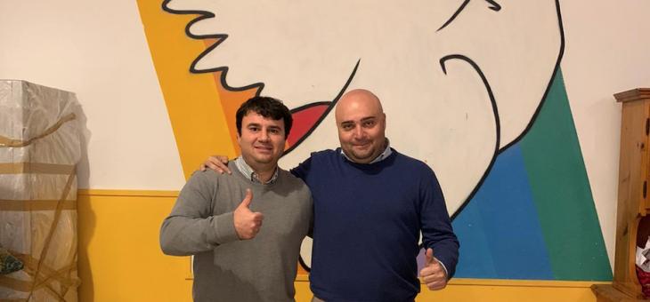 Emiliano Abramo entra a far parte della Saturnia Acicastello affiancando Mauro Nicosia come vice presidente