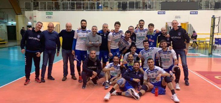 Per Saturnia Acicastello vittoria a Vibo e primo posto in classifica alla fine del girone di andata