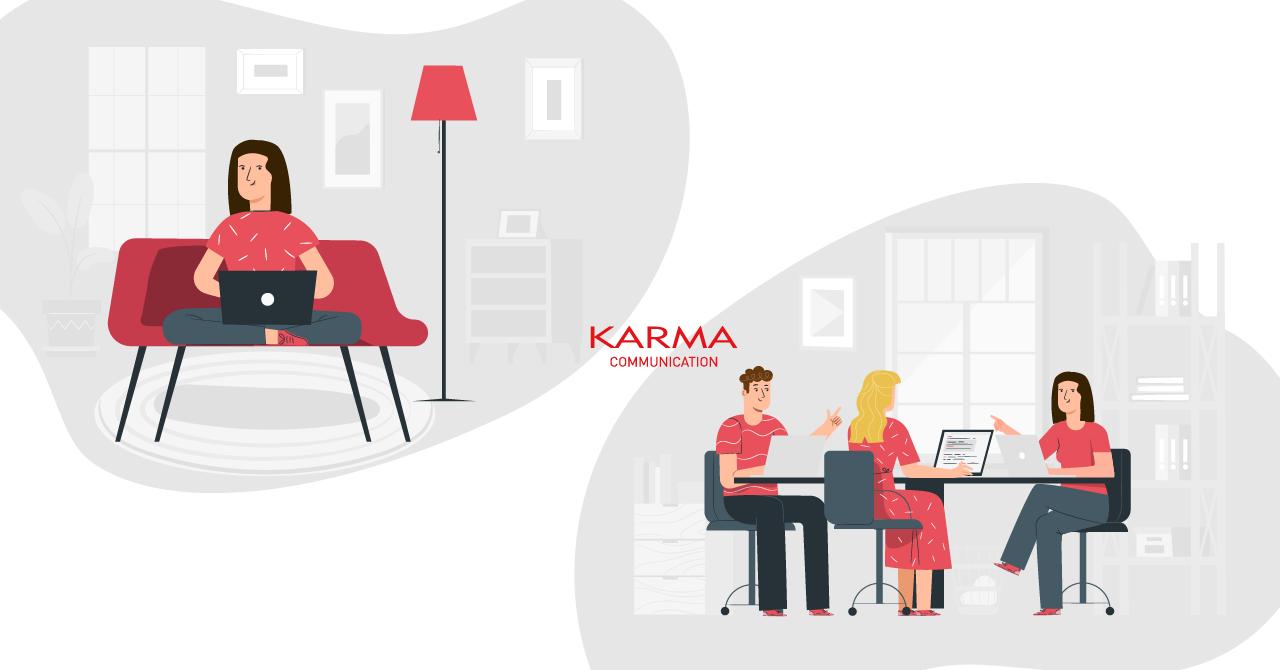 Karma Communication - Ufficio mobile ma non da casa