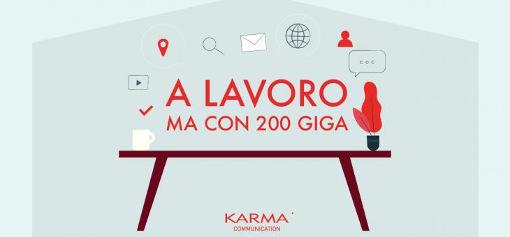 #iorestoacasa…con 200 giga
