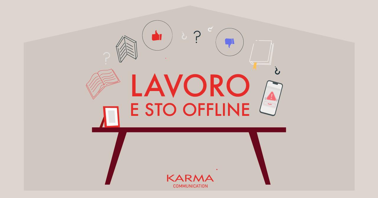 Karma Communication - #iorestoacasa...internet ti amo e ti odio
