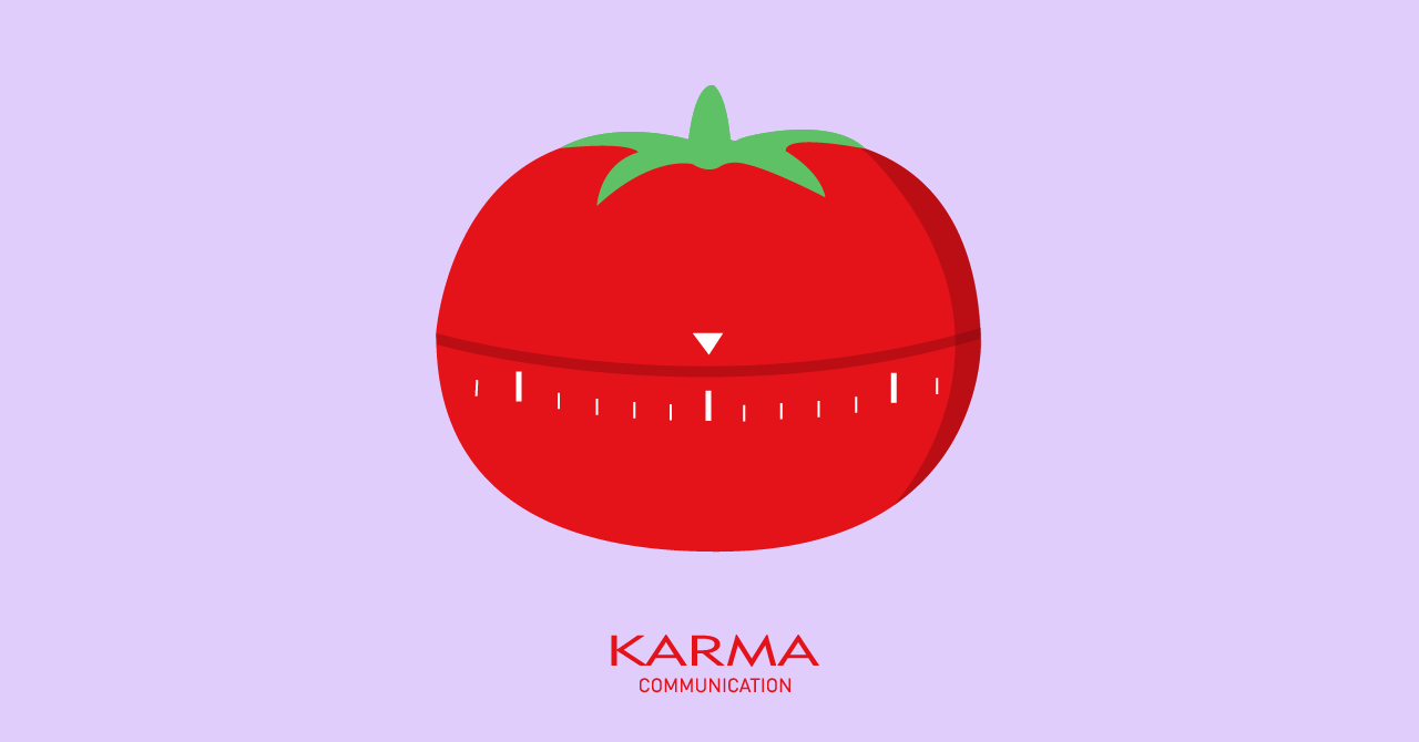 Karma Communication - Pomodoro teqnique Karma Style