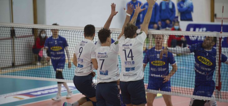 Saturnia Aci Castello: sconfitta numero 7 per i biancoblu che soccombono al Tuscania per 3-0