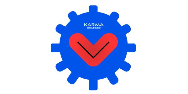 Comunicazione attraverso le parole e le creatività grafiche: questo è Karma Communication?
